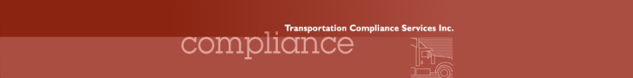 Transportation Compliance Services Inc.
